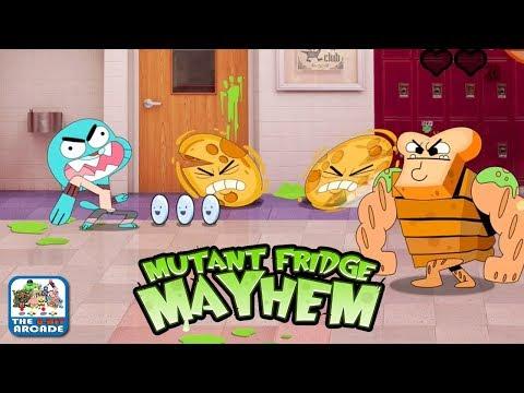 Gumball: Mutant Fridge Mayhem - Entering The Hallway Of Horror (Cartoon Network Games)