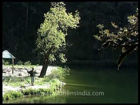 Camping at Dodital - the Emerald Lake above Uttarkashi