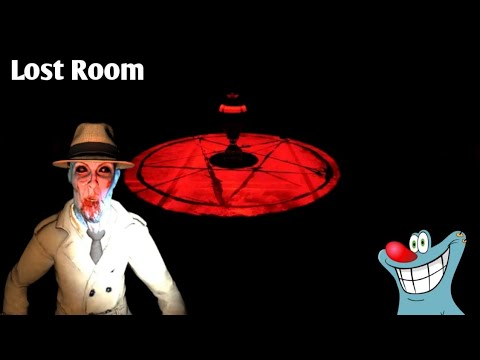Lost Room Horror Game | Oggy And Jack Voice Game Play |