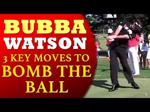 Bubba Watson 3 Keys to Power