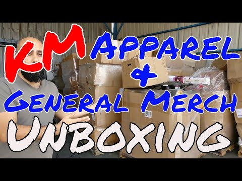 UNBOXING: KM Department Store Shelf-Pull General Merchandise & Clothing Loads