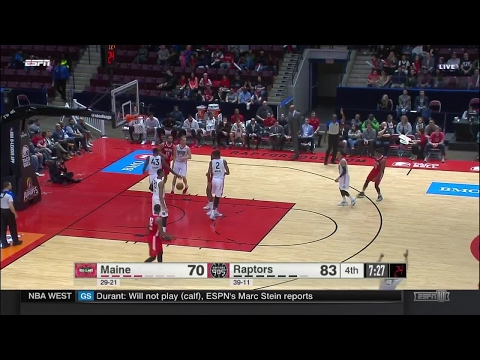 Highlights: Demetrius Jackson (21 points)  vs. the 905, 4/19/2017