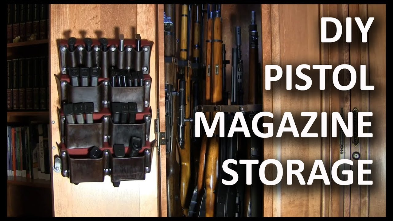 Making A Pistol Magazine Storage Rack   YouTube
