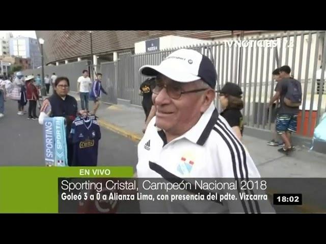 Sporting Cristal vs. Alianza Lima: celestes triunfan 3 – 0 en el Estadio Nacional