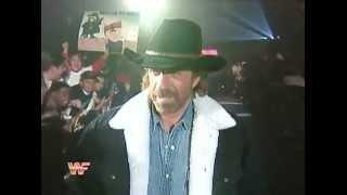 Chuck Norris   WWF Survivor Series   1994 FPW