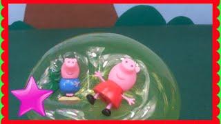 Vídeos Peppa Pig burbujas Juguetes de Peppa Pig