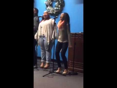 Booker T hs gospel choir @ DC3
