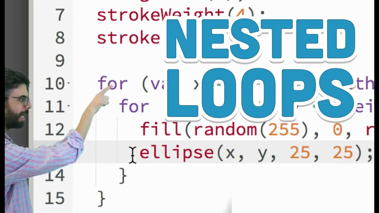 200.20 Nested Loops   p20.js Tutorial