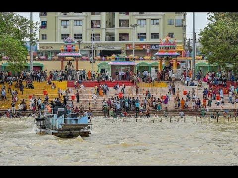 Godavari Pushkaralu Rajahmundry Andhra Pradesh - Hybiz.tv