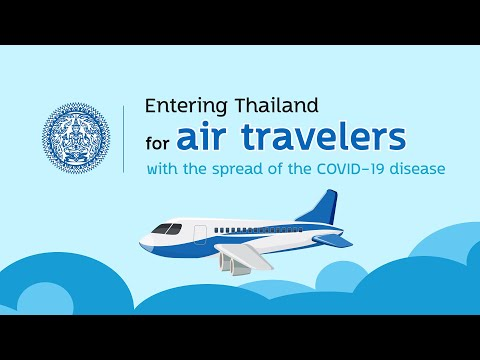 Thailand&39;s COE registration guideline for air travelers during COVID19 pandemic