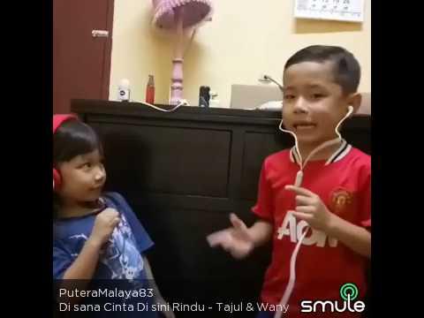 Iskandar feat Indah - Di Sana Cinta Di Sini Rindu