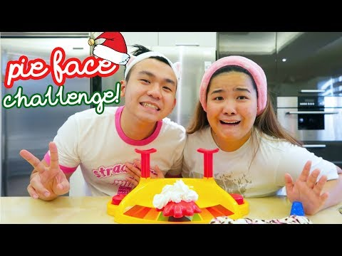 VLOGMAS DAY 11: PIE FACE CHALLENGE!