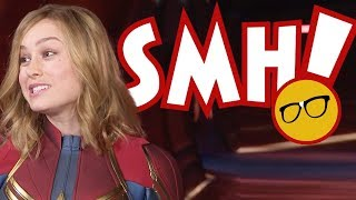 Captain Marvel Fan Goes After My Wife | Is Disney Encouraging This?