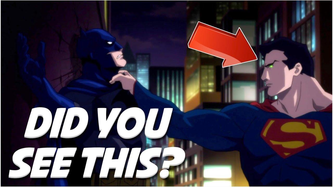 Batman Hush Movie Mistakes Superman Joker Bane Youtube
