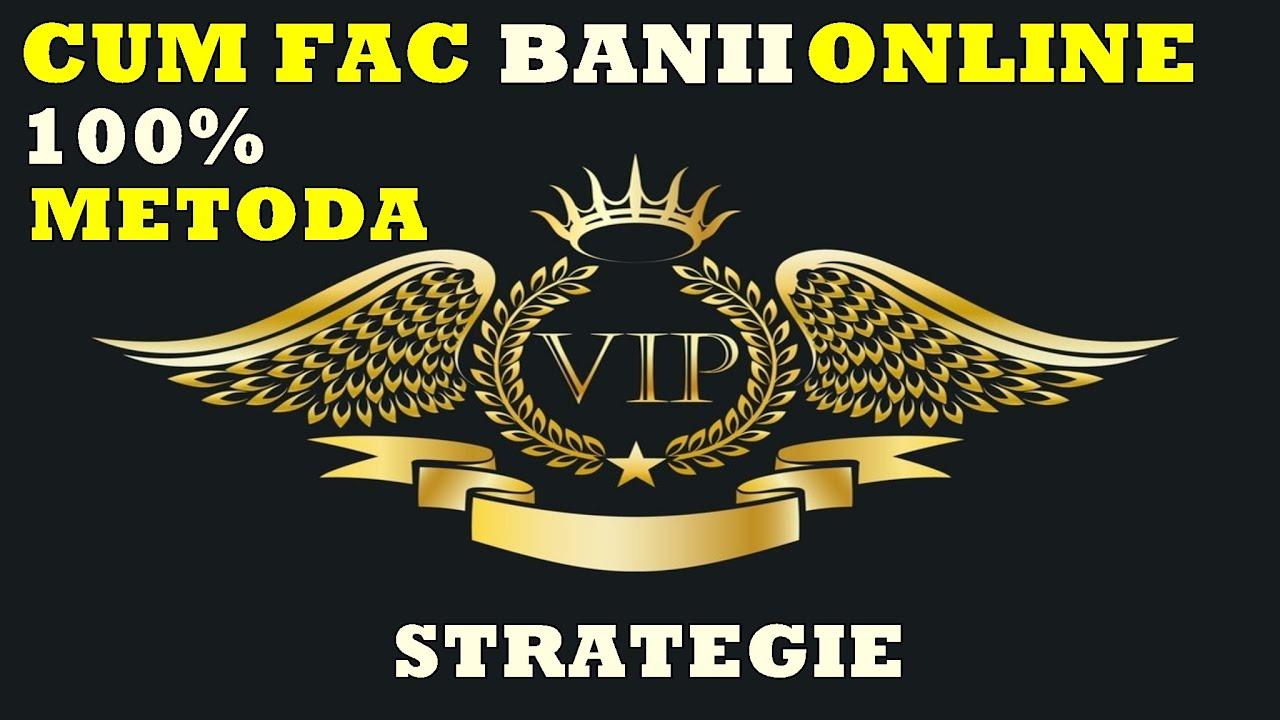strategie unde să faci bani)
