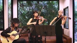 Astor Piazzola Por Una Cabeza Two Violins And Guitar