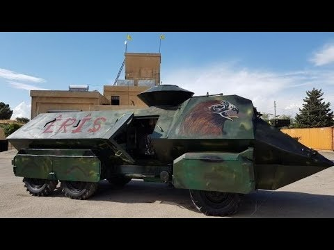 Homemade Tanks of Syria - 2017 - الدبابات محليه الصنع سوريا 2017