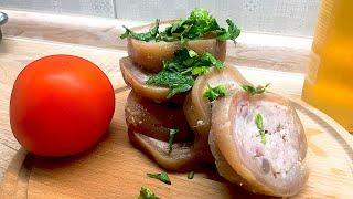 Дзампоне. Фаршированые свиные ноги. Легкие рецепты #супербатя на кухне