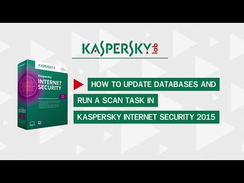 How To Update And Scan For Viruses In Kaspersky Internet Security 2015