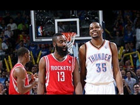 Duel: Kevin Durant versus James Harden