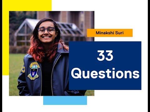 33 Questions: Minakshi Suri, Civil Engineering