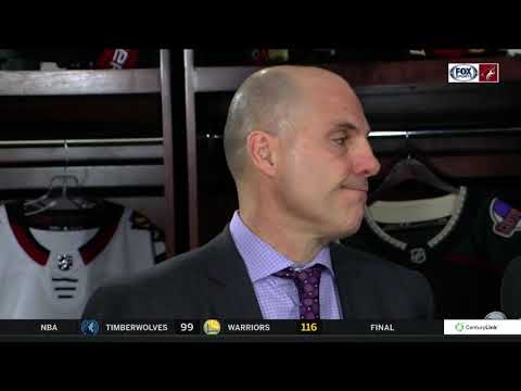 Tocchet on Coyotes win over Hurricanes