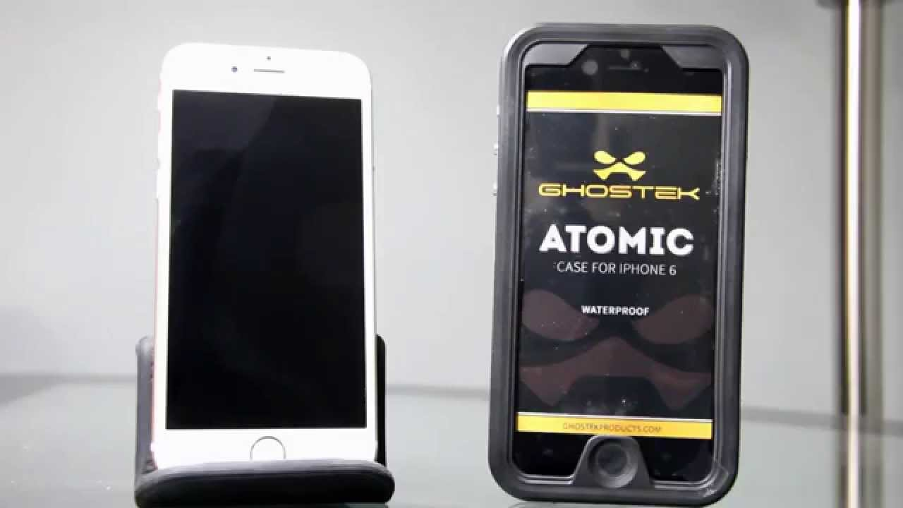 100% authentic 51762 e34c0 Ghostek Atomic Water Proof Case For iPhone 6 Review
