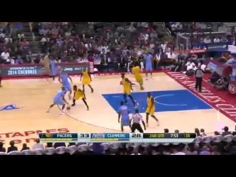 Hollins on Both Ends | Indiana Pacers vs LA Clippers | December 1, 2013 | NBA 2013-14 Season