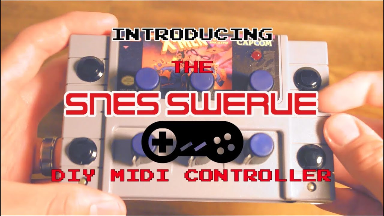 The SNES Swerve (DIY MIDI Controller) Unboxing