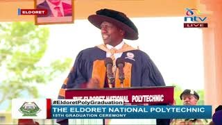 DP Ruto's speech at Eldoret National Polytechnic graduation ceremony