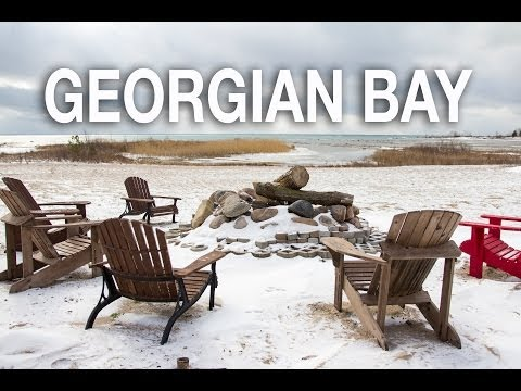Georgian Bay Waterfront Property:  Barrie Video Tours 1185