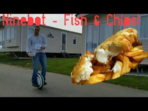 Ninebot Crash - Hendra Park - Fish & Chips!