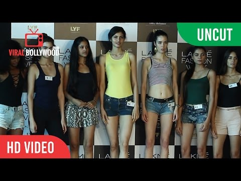 UNCUT - Hot Models At Lakme Fashion Week 2016 Auditions
