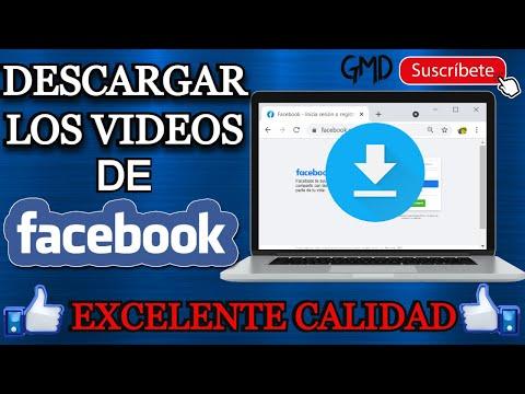 Como DESCARGAR VIDEOS de FACEBOOK desde PC | SIN PERDER LA CALIDAD