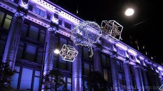 Oxford Street (London) Christmas lights 2011 - launch evening!