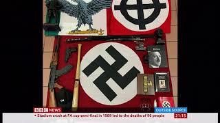 anti-terrorist-police-take-down-nazi-fascists-italy---bbc-news