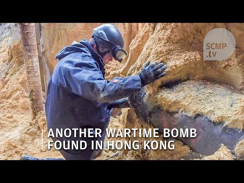 Bomb in Hong Kong: Second wartime bomb found at Wan Chai construction site