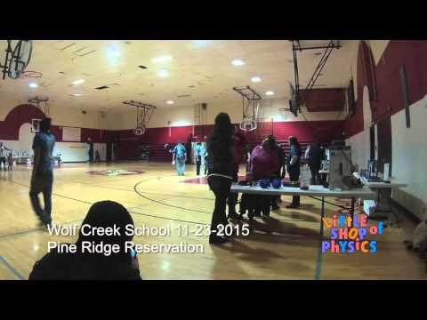 Wolf Creek School Time-lapse, Pine Ridge 2015