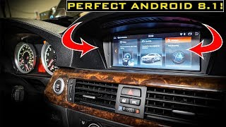BMW Android 8.1 Head Unit Upgrade For E90 CCC! MUCH Improved from Seicane.