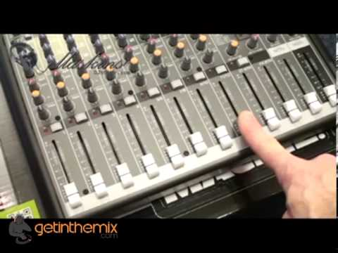 Mackie Pro FX 12 Mixer with DJ Tutor @ www.getinthemix.co.uk