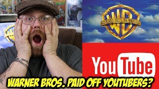 Warner Brothers Paid Off YouTubers for Good Reviews!!!