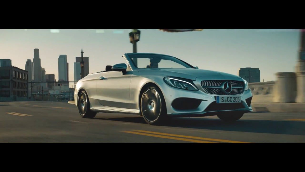 The new mercedes benz c class cabriolet commercial time for Mercedes benz new advert