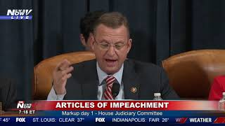 """3 YEAR VENDETTA"" Collins says upcoming election prompted articles of impeachment"
