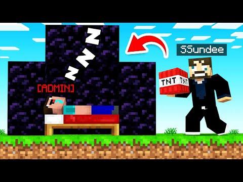 Minecraft BED WARS Vs SERVER ADMINS