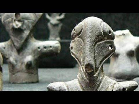 ✅ Prehistoric man in Europe, Reptilian figures Found !!!