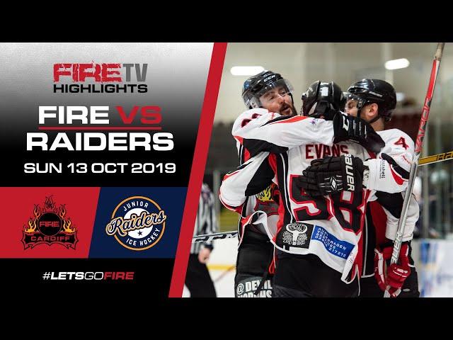 Cardiff Fire v Romford Raiders 2 13/10/19