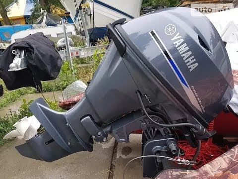 Лодочный мотор YAMAHA F15 2015 г.в. Начало эксплуатации.
