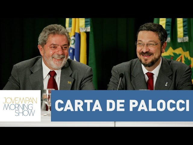 Carta de Palocci deixa a situação de Lula ainda mais delicada