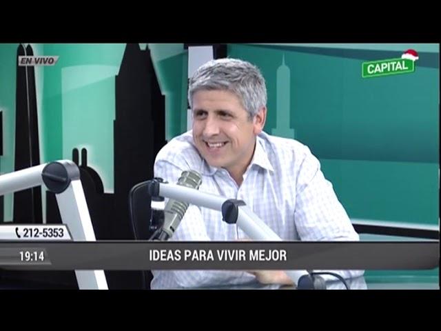 Entrevista a Rafael Zavala con Carlos Galdós (Capital TV)