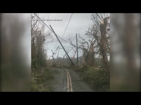 Hurricane Irma slams into Cuba